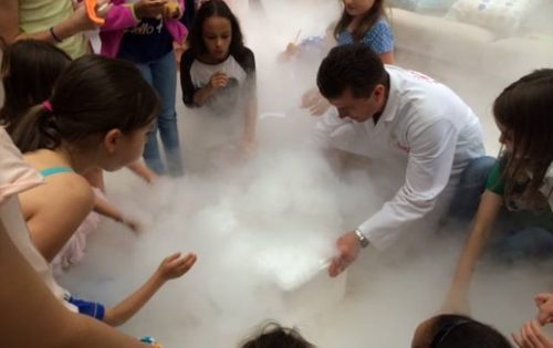 Dry Ice Science Experiment