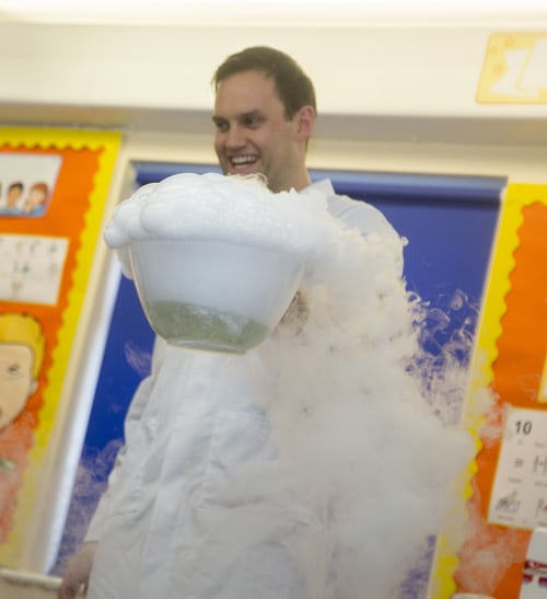 Holiday Club and After School Club Science Boffins Visit