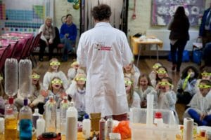 Science Boffins Ready to go!