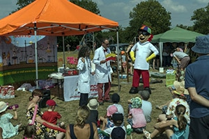 Boffins Fun Science Event in action!