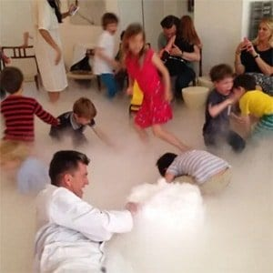Dry Ice Bubbling at your Science Party