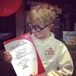 Loving the Science Party Certificate and Lab Kit