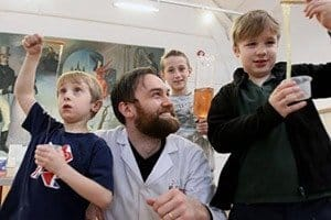 Slime Making a hit at Science Boffins Parties